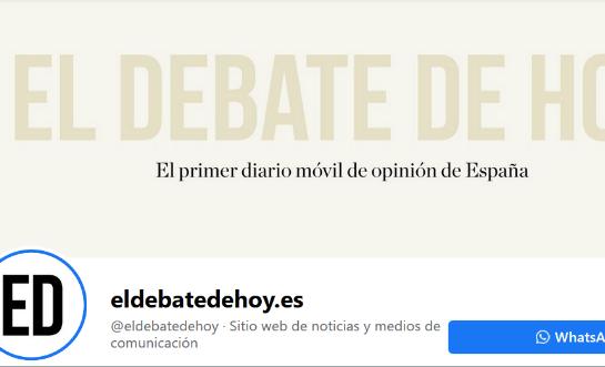 el debate de hoy